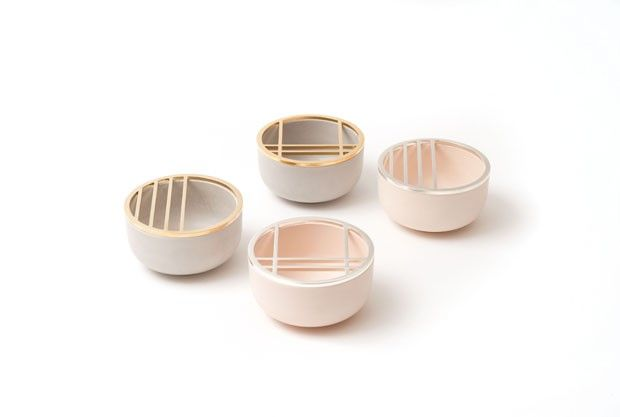 Objetos de cerâmica minimalistas (Foto: Divulgação)