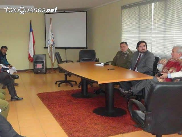 Cauquenesnet: En Pelluhue autoridades coordinaron acciones de se...