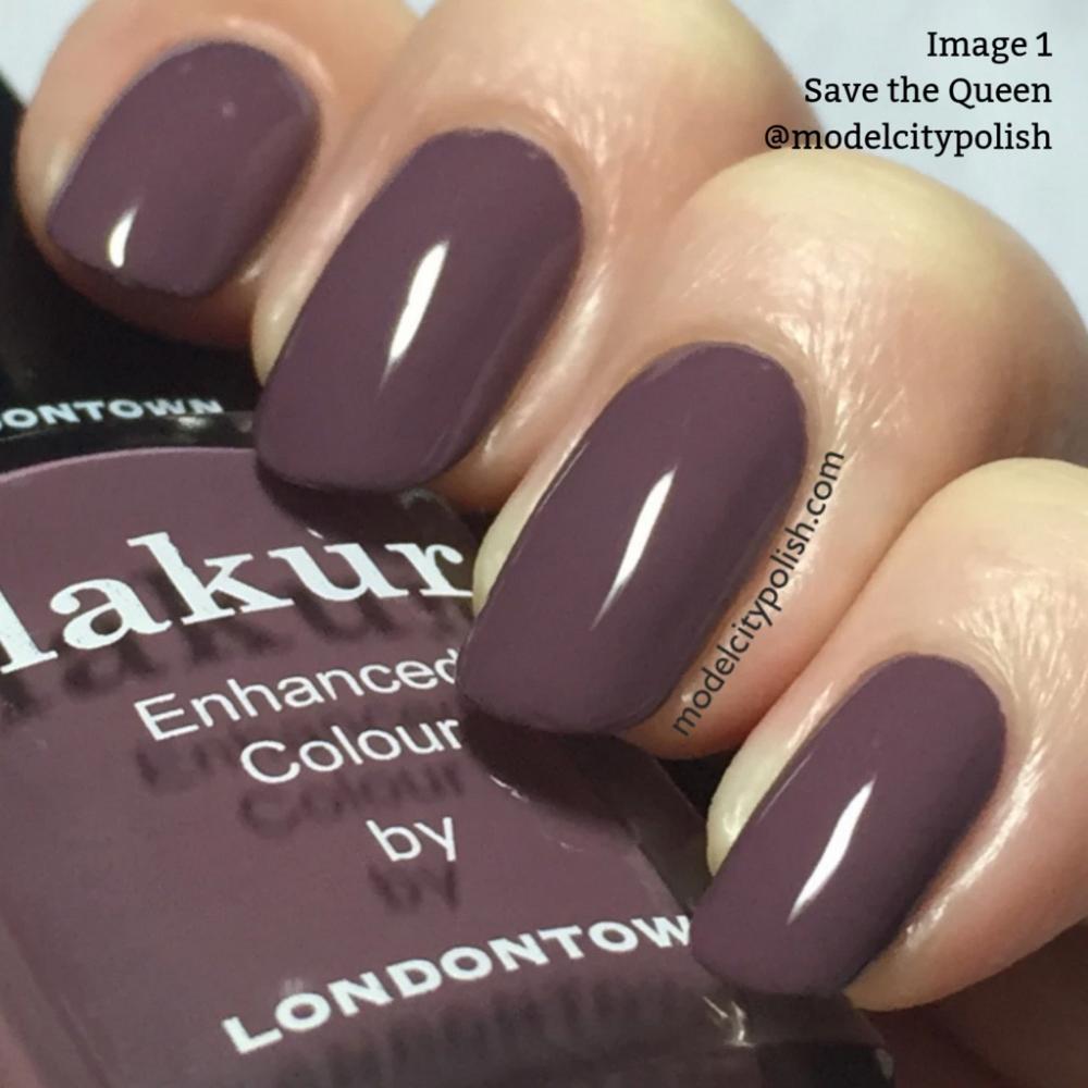Speichern Sie die Königin Nagellack – LONDONTOWN Lakur #NailPolishColors