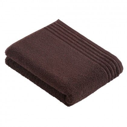 beds #bedlinen Vossen Handtücher Vienna Style Supersoft dark brown - flanell fleece bettwasche kalten winterzeit