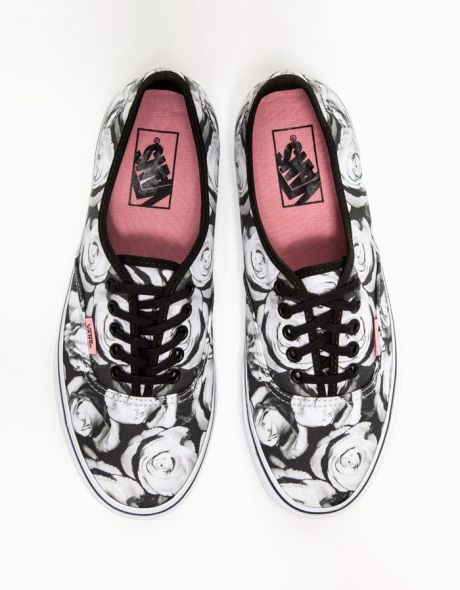 vans digi roses   Sneakers fashion