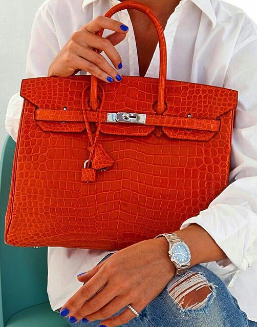 d1eb87f68cf Hermès Crocodile Birkin bag