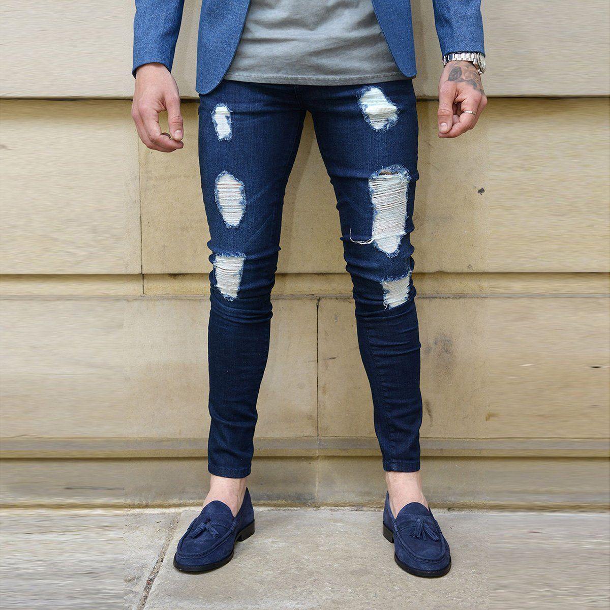 Boys ENZO Stretch Skinny Jeans Black Zip Fly New Kids Pants Sale Waist 24-29