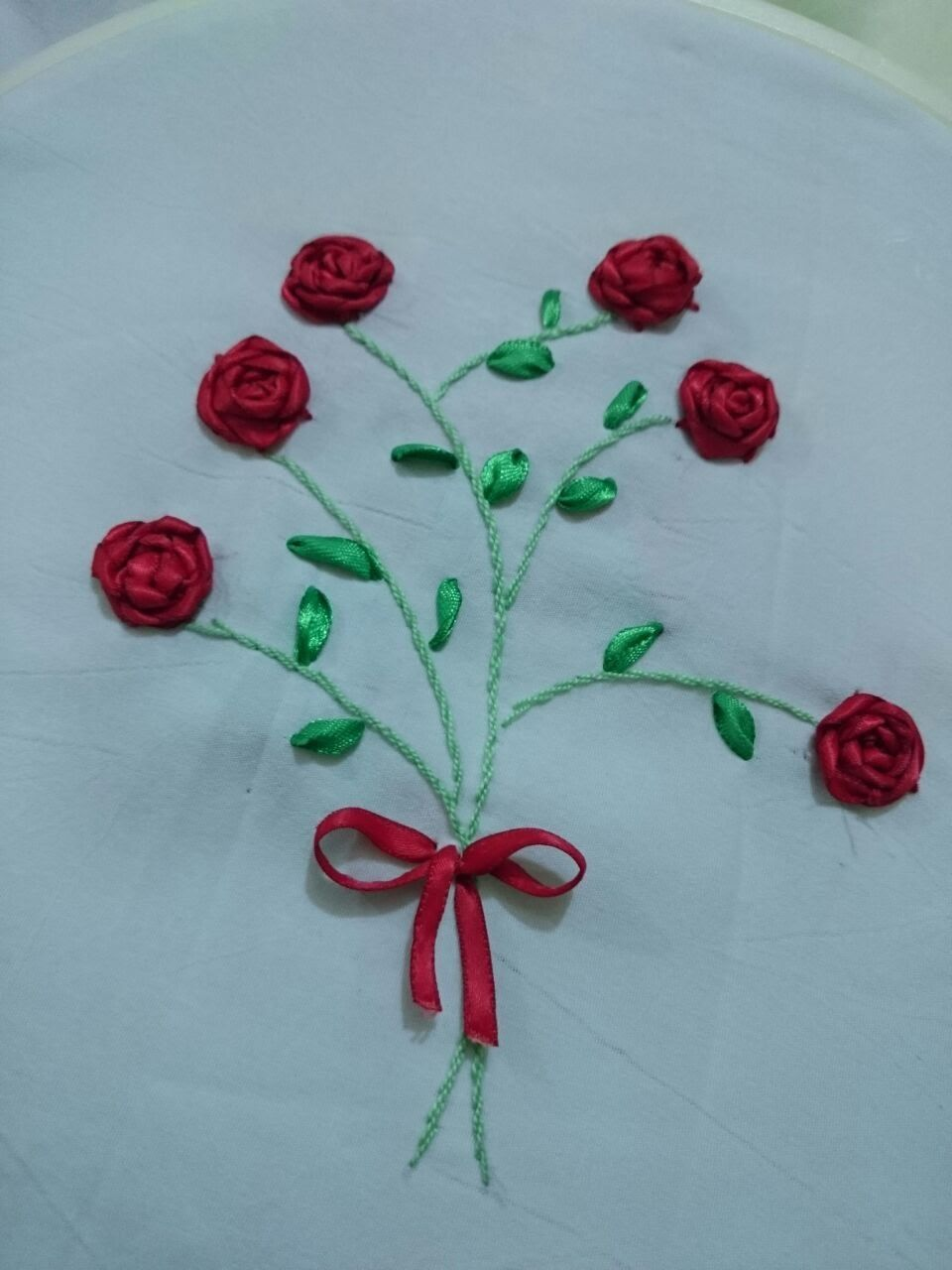 How To Make A Satin Ribbon Rose For Ribbon Embroidery Projects