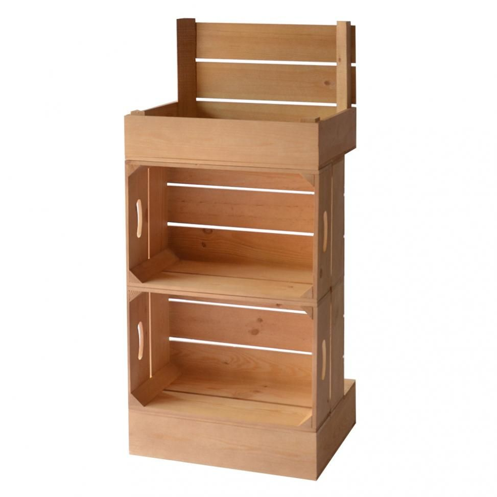 Wood Retail Display Crates Wooden Thing