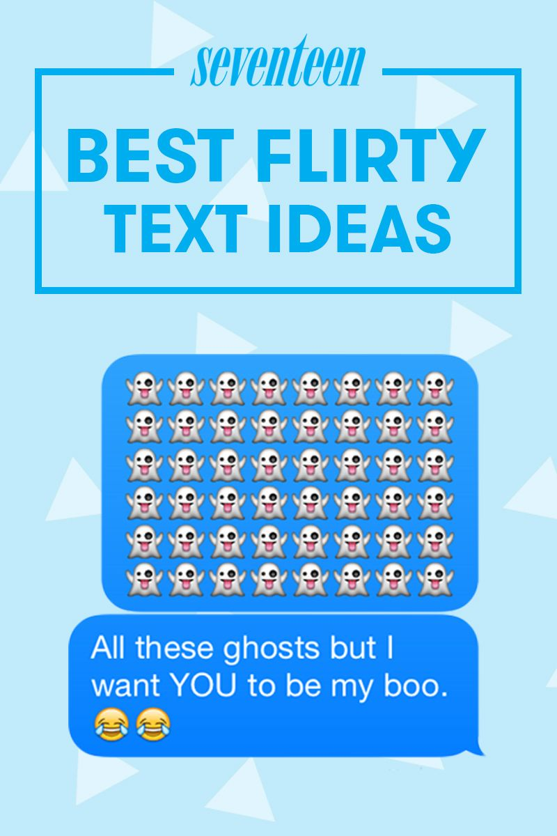 Flirty texts to send your crush