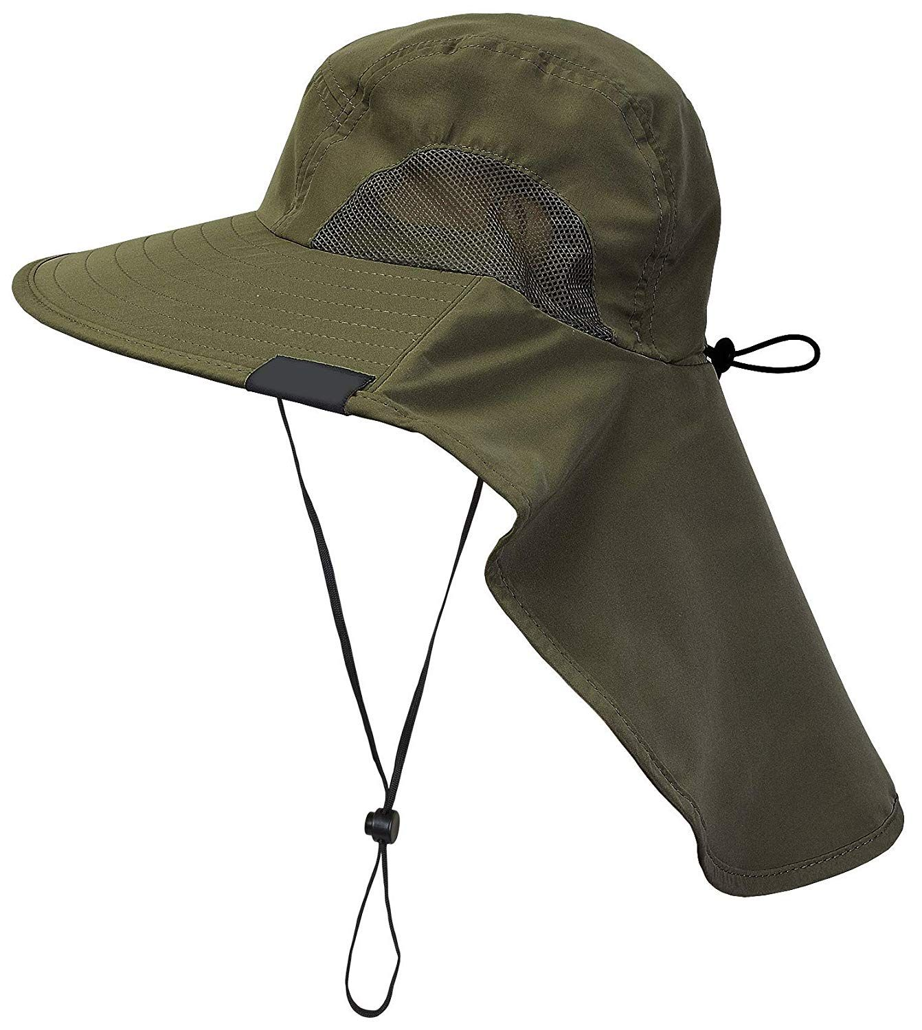 59f0b88427ade1 CAMOLAND Camouflage Outdoor Fishing Boonie Hat with Wide Brim UV Protection  Summer Safari Sling Bucket Cap UPF 50+ | Hunting & Fishing | Bucket cap,  Hats, ...