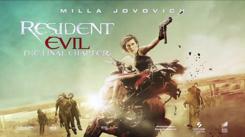 Resident Evil The Final Chapter Trailer Resident Evil