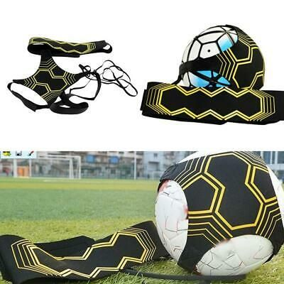 Advertisement Ebay Adjustable Football Kick Trainer Soccer Ball Training Aid Elastic Practice Belt