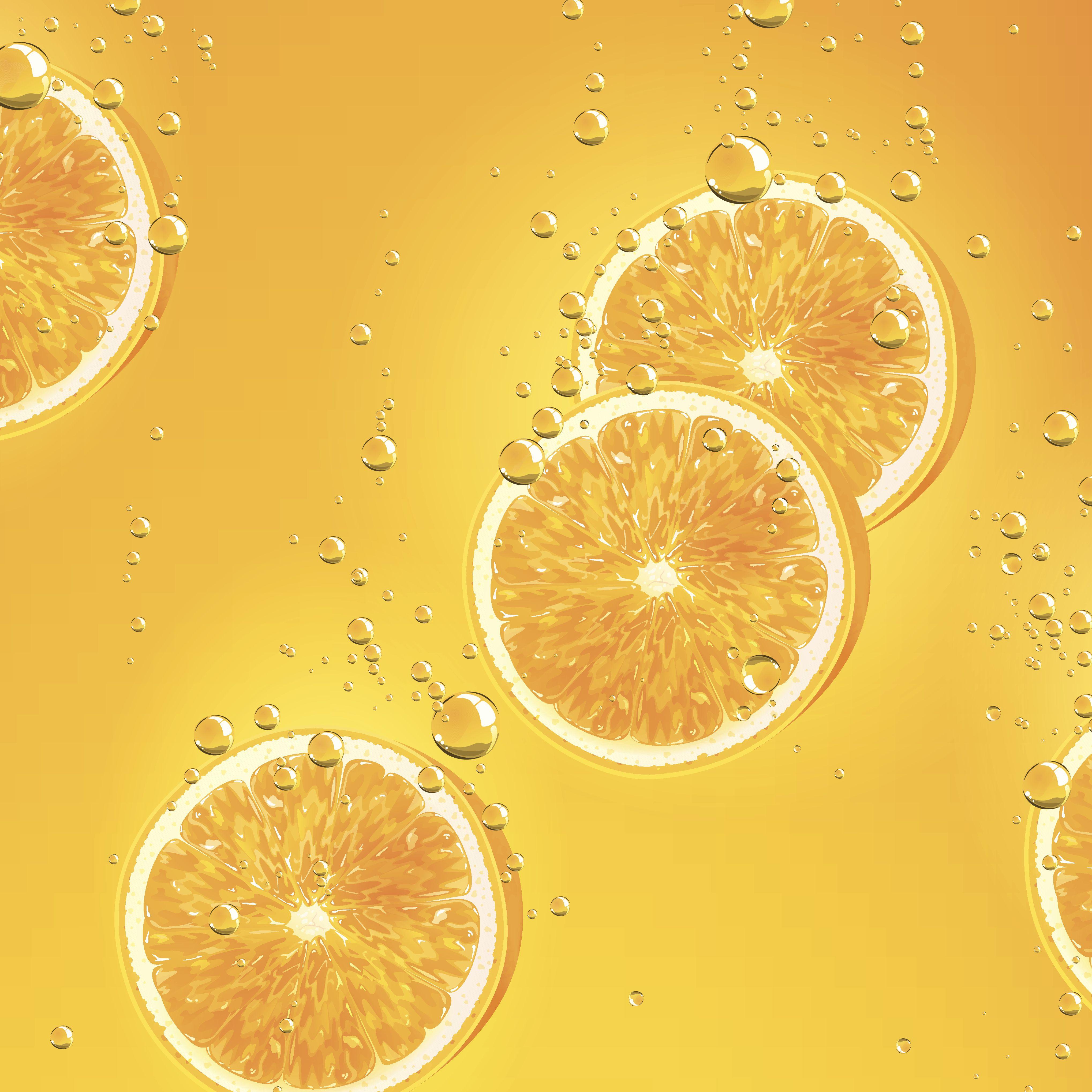 Sliced oranges!