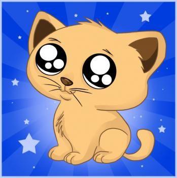 How To Draw An Anime Cartoon Kitty Step By Step Anime Animals