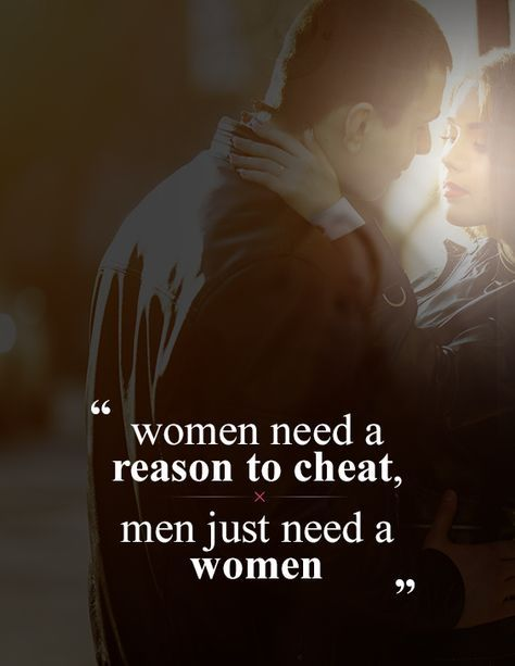 5 reasons women cheat