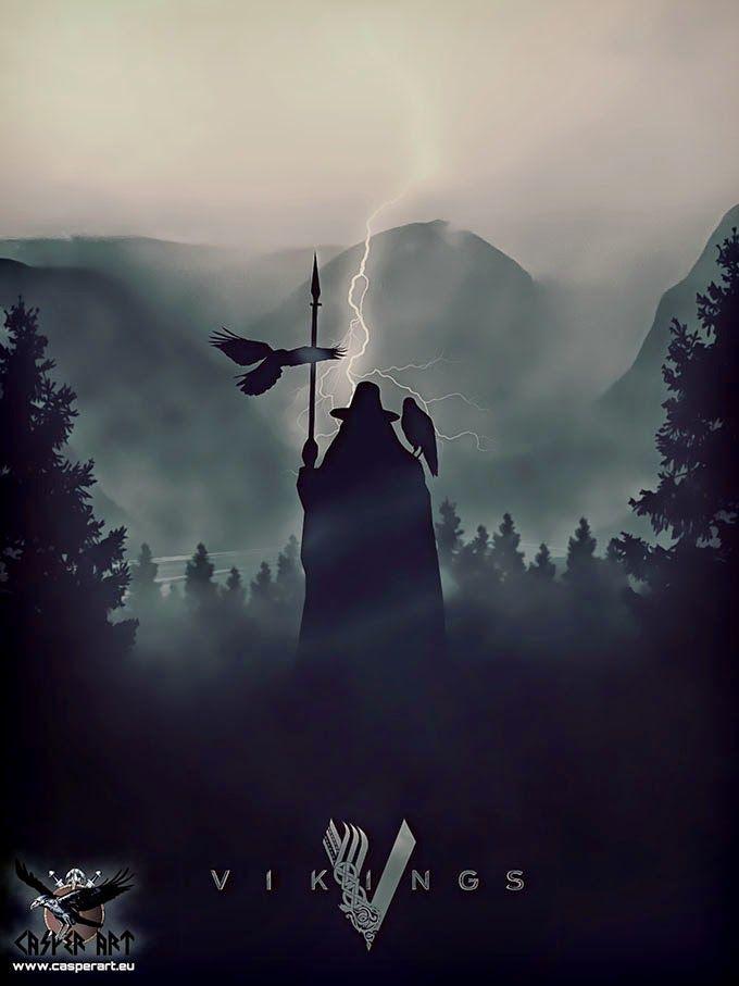 The Viking Post: VIKINGS series, Odin | Vikings+100 | Pinterest ...