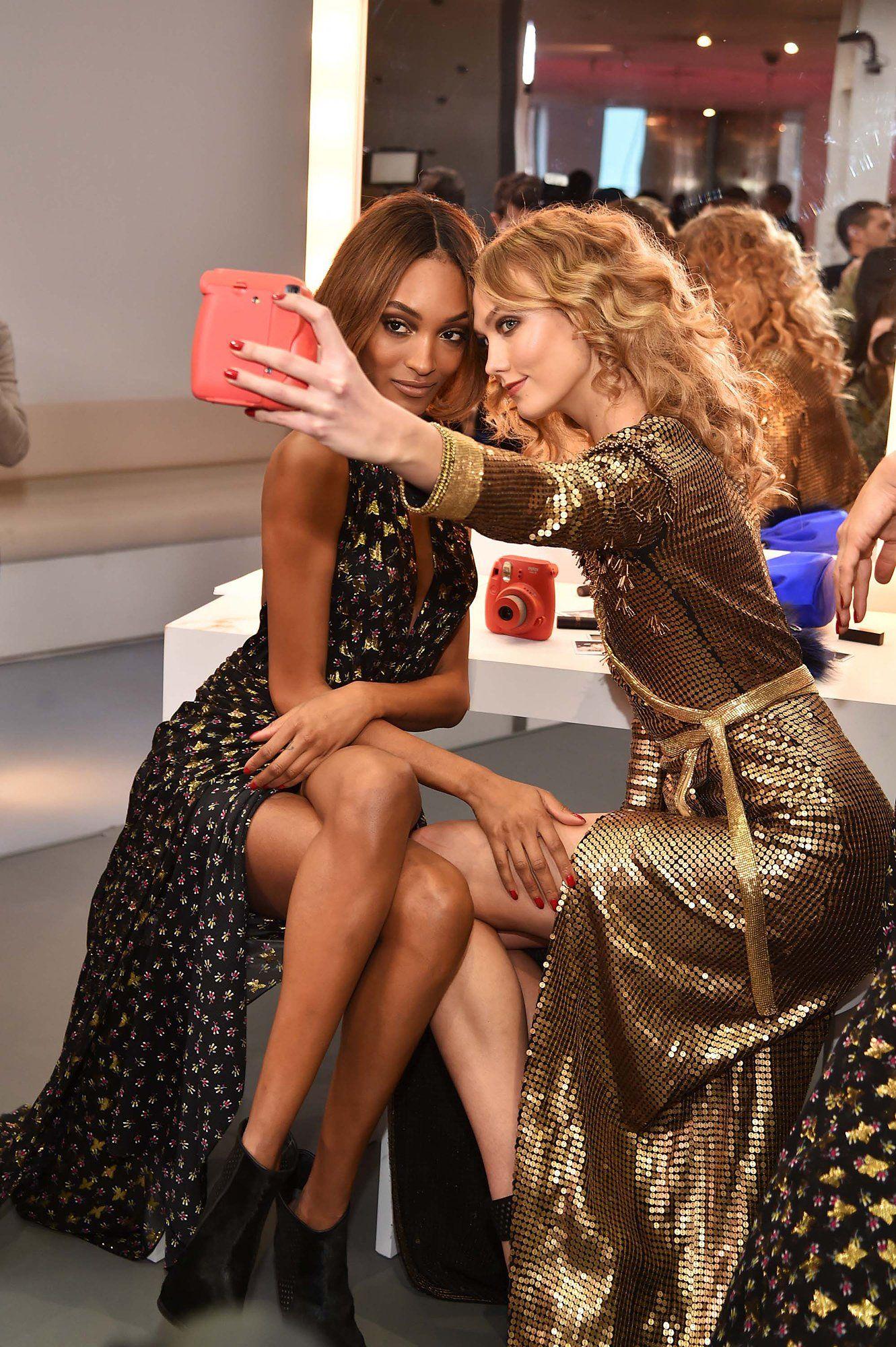 68cfb56074 Karlie Kloss and Jourdan Dunn Don t Need a Hashtag to Prove Their Friendship