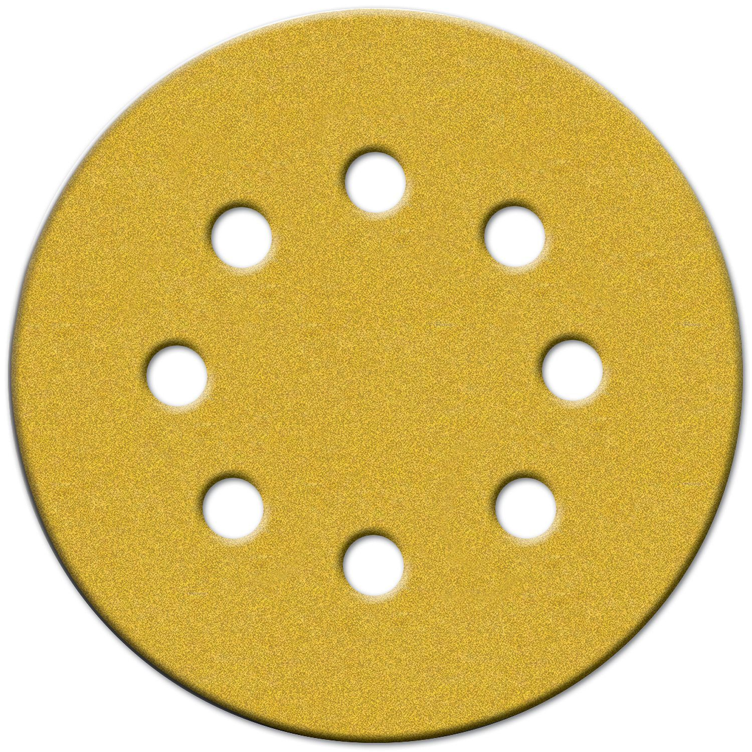 "Norton 49219 5"" 180 Grit Hook & Loop Sanding Discs With 8 Holes 25-count"