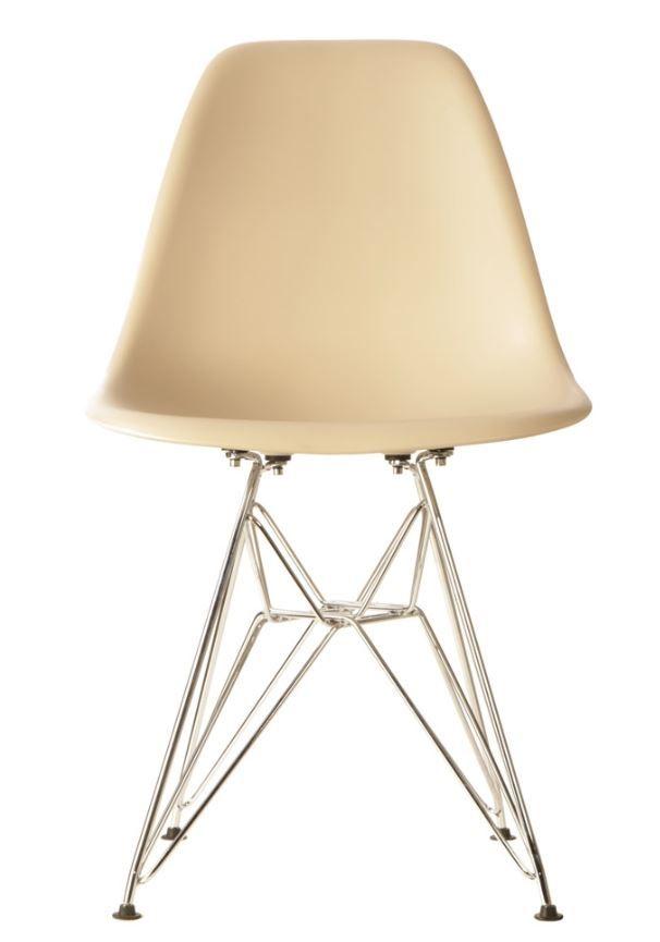 the matt blatt replica eames dsr side chair plastic beige you