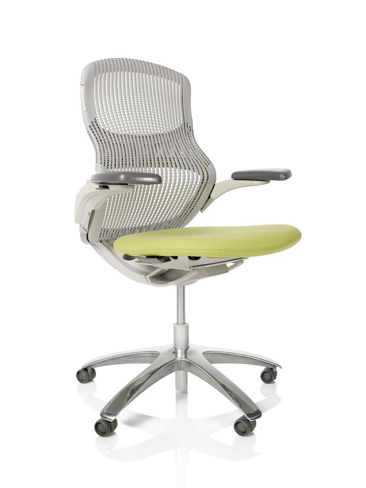 Generation By Knoll Offers A New Standard Of Comfort And Unrestrained Movement Supporting The Range Of Postur Modern Office Chair Office Chair Ergonomic Chair