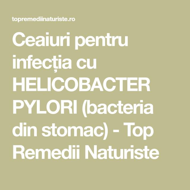 helicobacter pylori pierdere în greutate