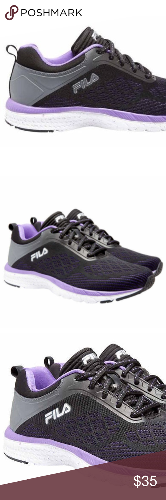 FILA Womens Memory Foam Outreach Athletic Shoe This is for a