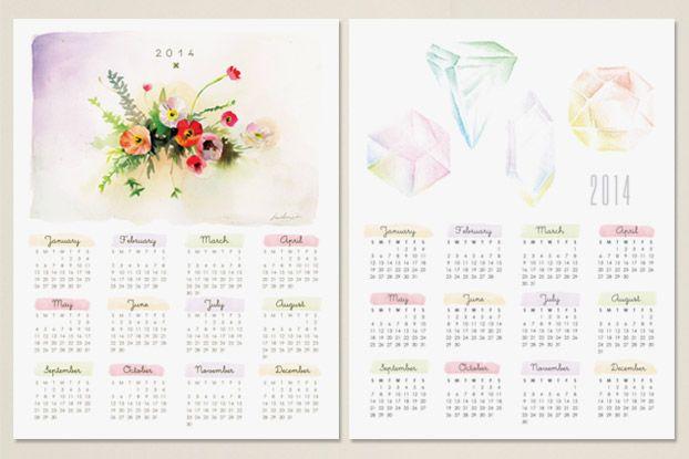 (ilmainen tulostus) kalenteri