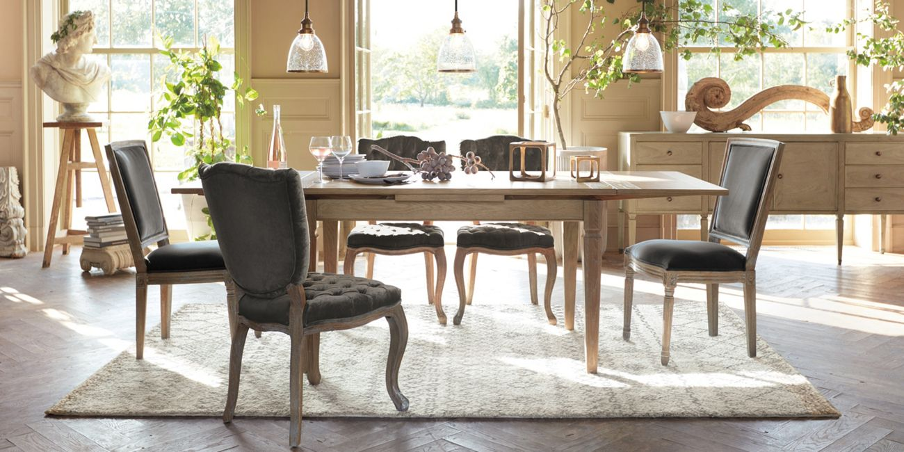 Luciano Dining Table Arhaus Furniture Dining Room Sets Dining Room Furniture Rectangle Dining Table