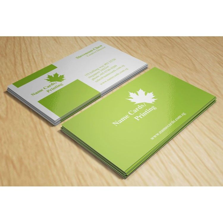 Express Name Cards - 1 Colour (PMS) Offset Printing, Urgent Name - name card