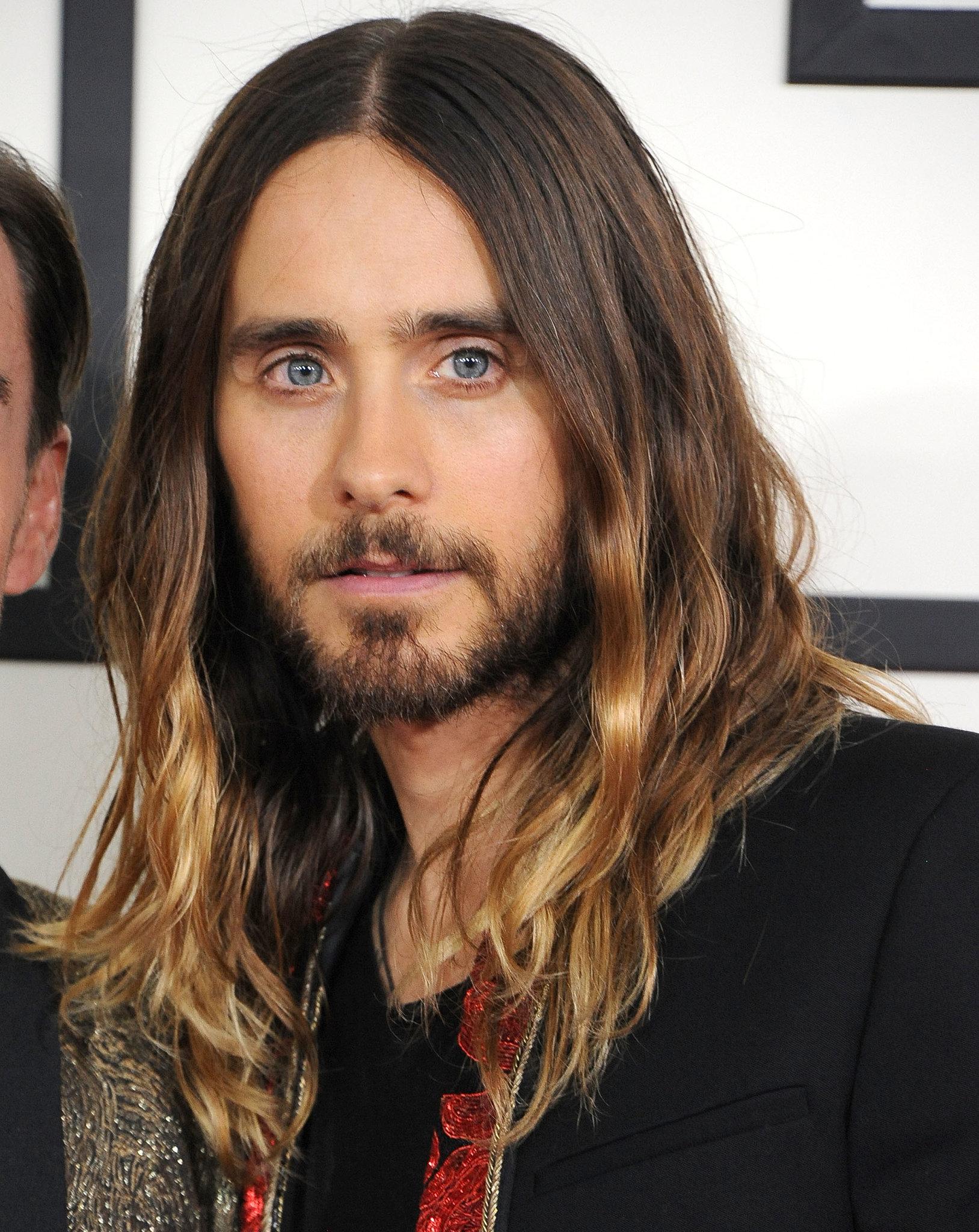 Jared Leto  Long hair styles men, Jared leto hair, Long hair styles