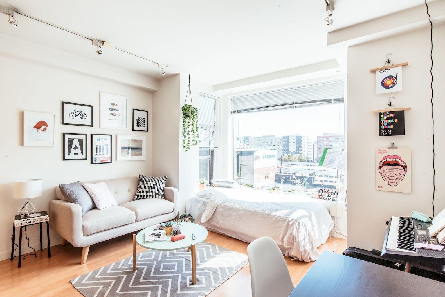 80 Small Apartment Studio Decorating Ideas | Apartments, Stylish and ...