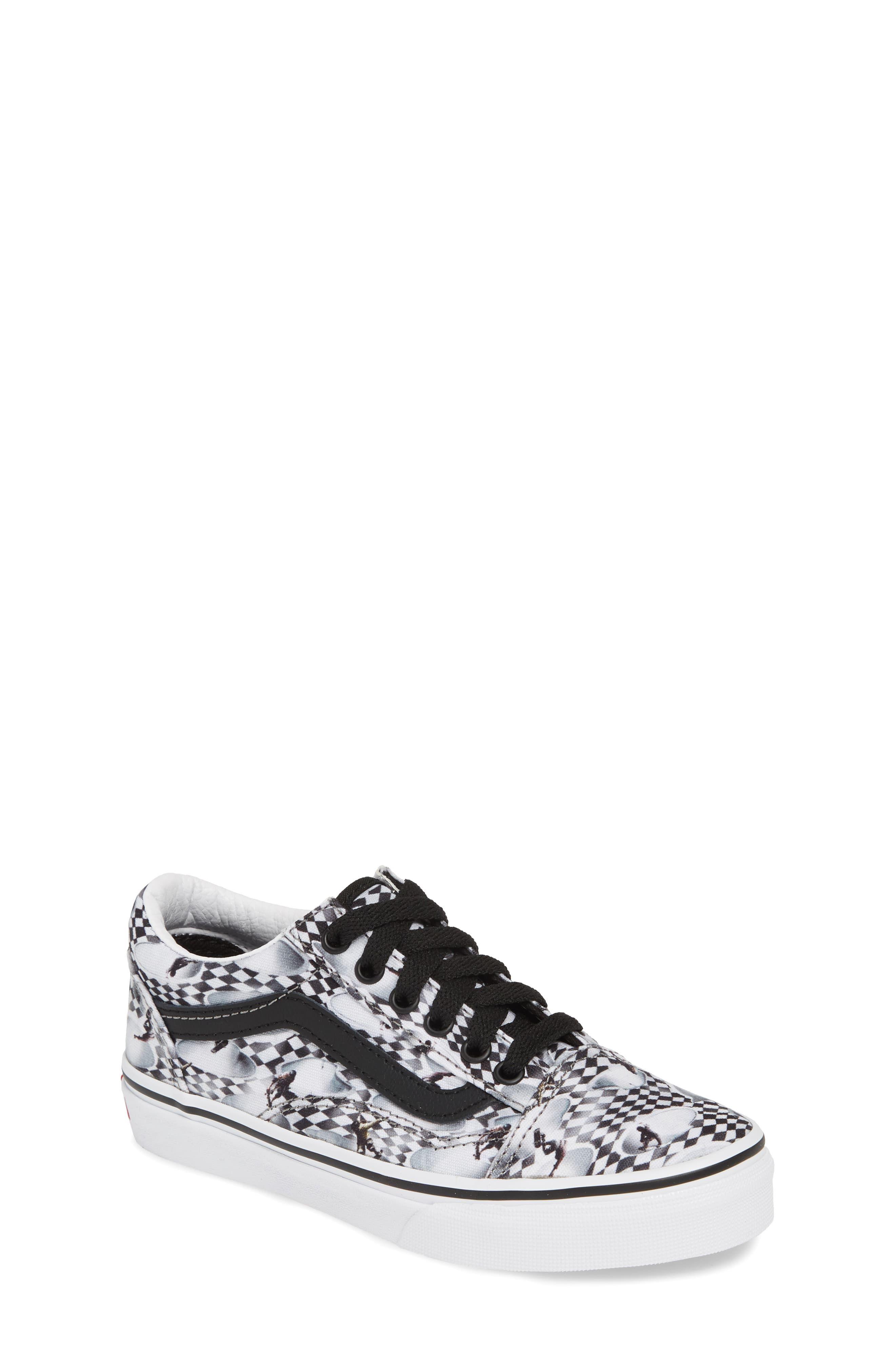 Vans x Molo Old Skool Low Top Sneaker (Toddler, Little Kid