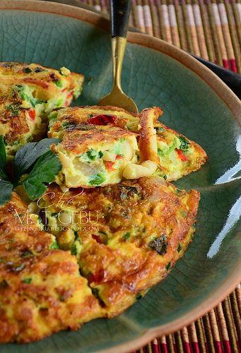 Telur Dadar Cendawan Recipes Food Breakfast
