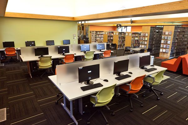 Champaign (Ill.) Public Library, Douglass Branch. Like the use of ...