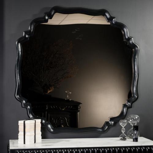 Miroir or arabesques noires