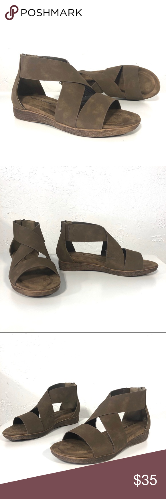 Pierre Dumas Kori Taupe Low Wedge Sandals Super comfy taupe Strappy Sandals by Pierre Dumas. Featuring a faux leather distressed look, this a must have for this year. Medium width and true to size. Pierre Dumas Shoes Sandals #lowwedgesandals Pierre Dumas Kori Taupe Low Wedge Sandals Super comfy taupe Strappy Sandals by Pierre Dumas. Featuring a faux leather distressed look, this a must have for this year. Medium width and true to size. Pierre Dumas Shoes Sandals #lowwedgesandals Pierre Dumas Kor #lowwedgesandals