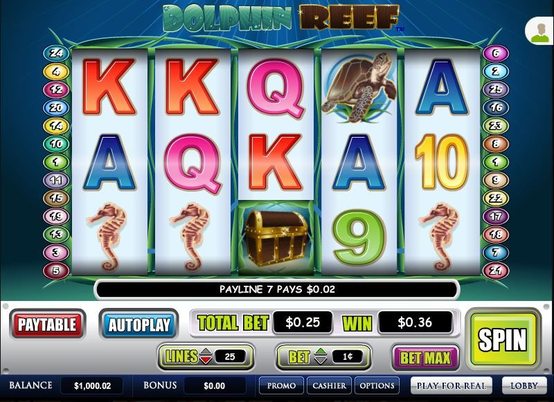 Reef Club Casino Instant Play