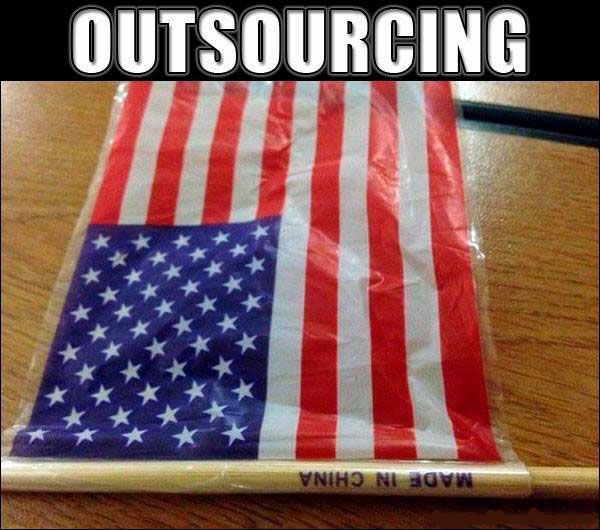 American Flag On Made In China Packaging You Had One Job Funny Fails One Job