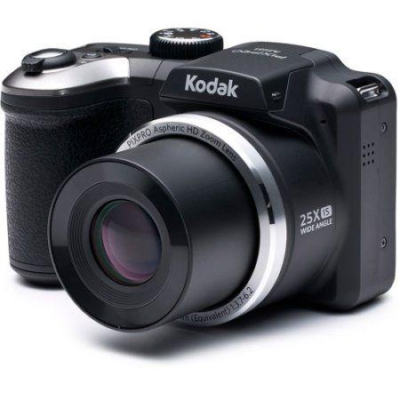 Kodak Az251 Digital Camera With 16 15 Megapixels And 25x Optical Zoom Walmart Com Best Digital Camera Kodak Digital Camera