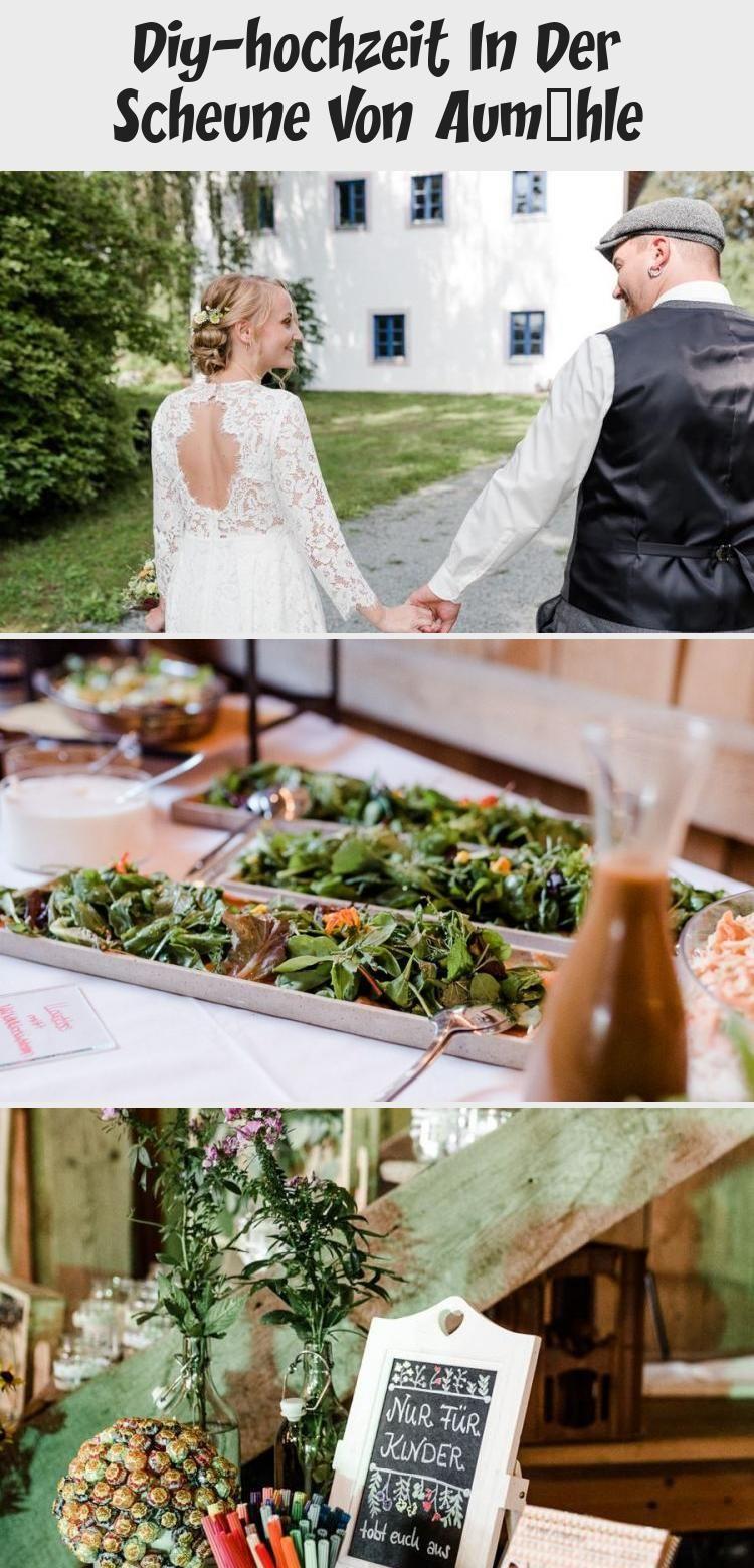 Diy Hochzeit In Der Scheune Von Aumuhle Dekoration In 2020 Wedding Wedding Dresses Lace Decor