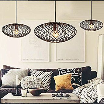 FOSHAN MINGZE 1 Light Modern Cage Pendant Copper And Metal Finished Ceiling Shade