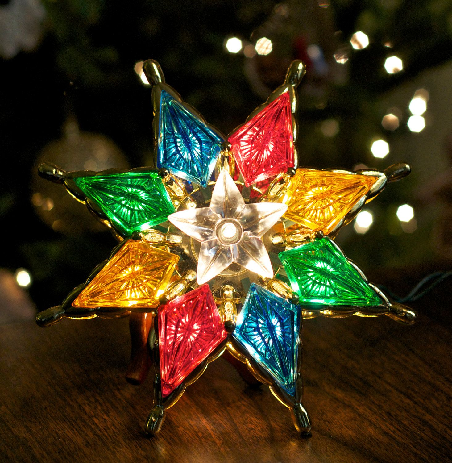 vintage christmas tree toppers sparkly vintage starburst christmas tree topper by dotfriday