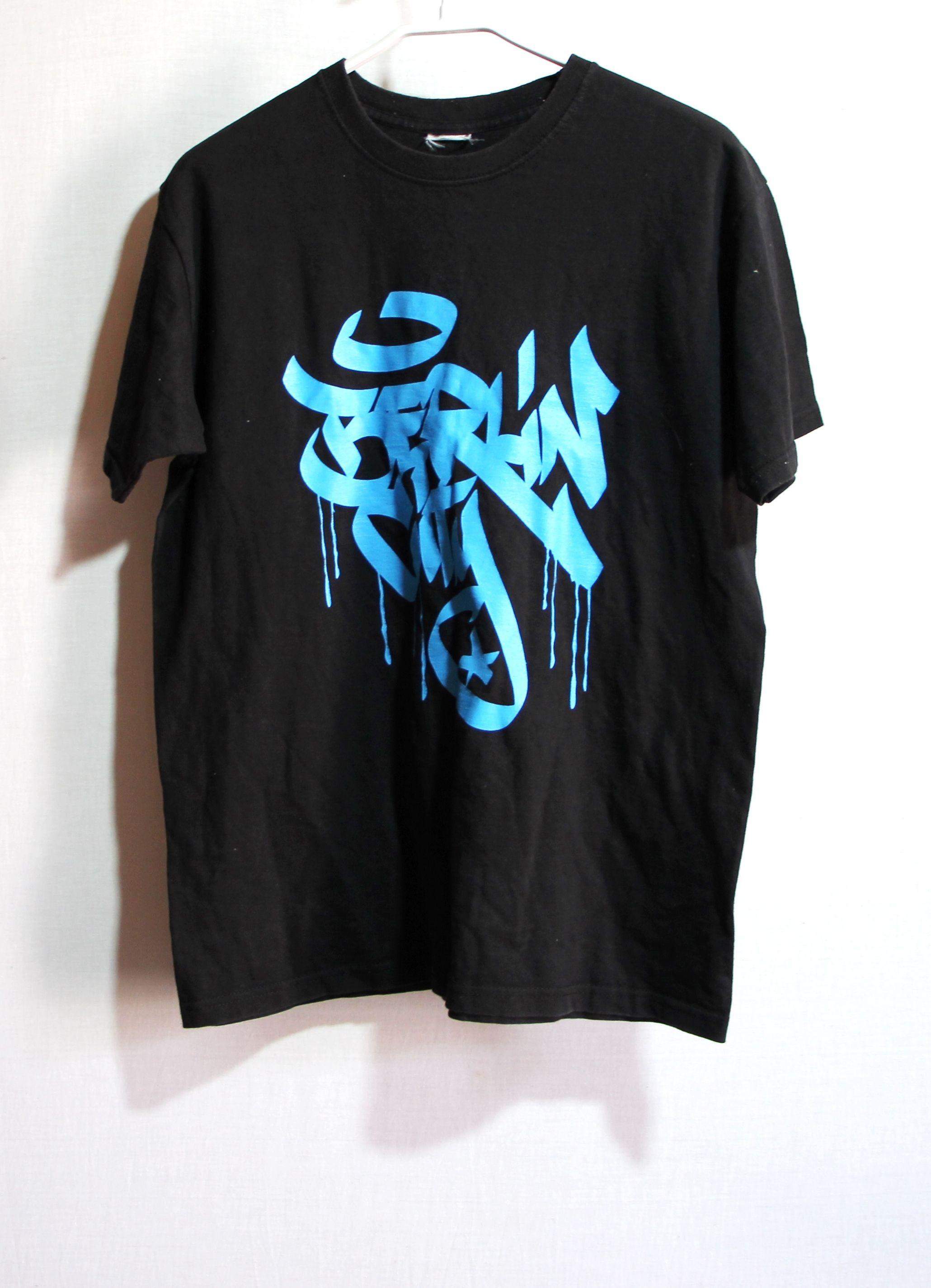 Vintage T Shirt Berlin City Graffiti Black T Shirts Mens Streetwear Tshirts Size Small S Retro Mens T Shirts Short Sleeves In 2020 Vintage Mens T Shirts Mens Tshirts Mens Streetwear