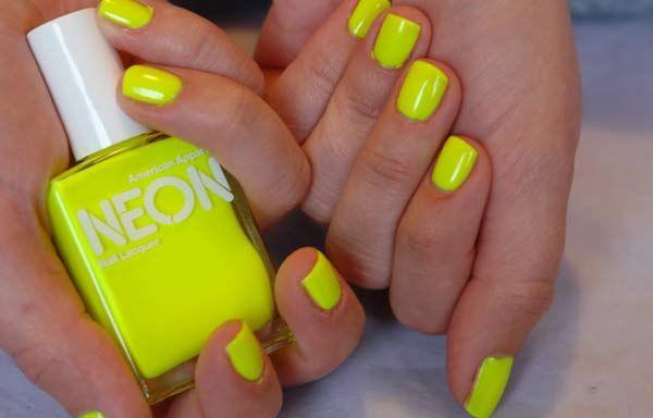 Unas Decoradas Colores Neon Unas Decoradas Unas Colores Neon Y