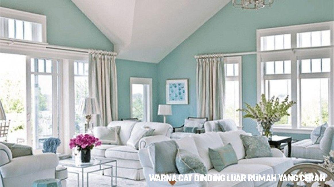 Koleksi Ide 30 Gambar Terkeren Warna Cat Dinding Luar Rumah Yang Cerah Beach House Decor Living Room Color Palette Living Room Paint Colors For Living Room