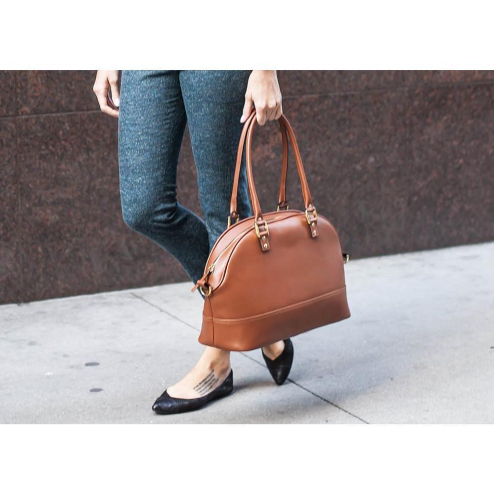 236da6b5b87e ONA Chelsea Camera Bag - Antique Cognac Handcrafted Saffiano leather.  (ONA012BR)