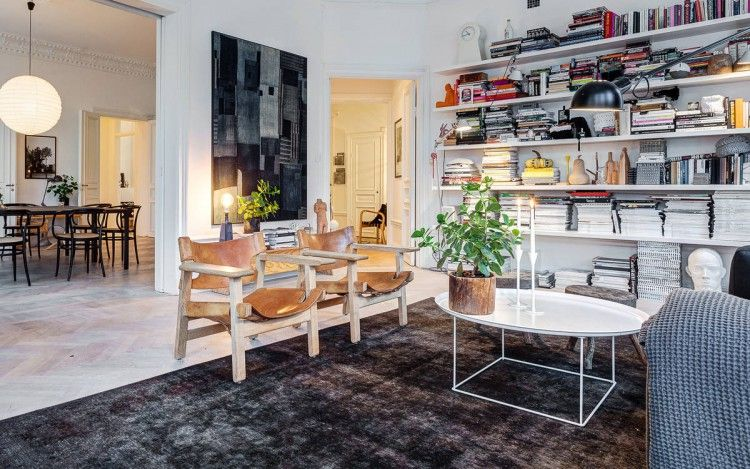 Lotta Agaton S Home In Stockholm Com Imagens Casas De Familia Interiores Casas