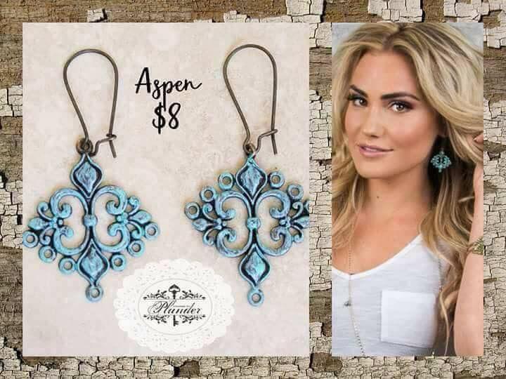 new Plunder Jewelry Earrings ASPEN