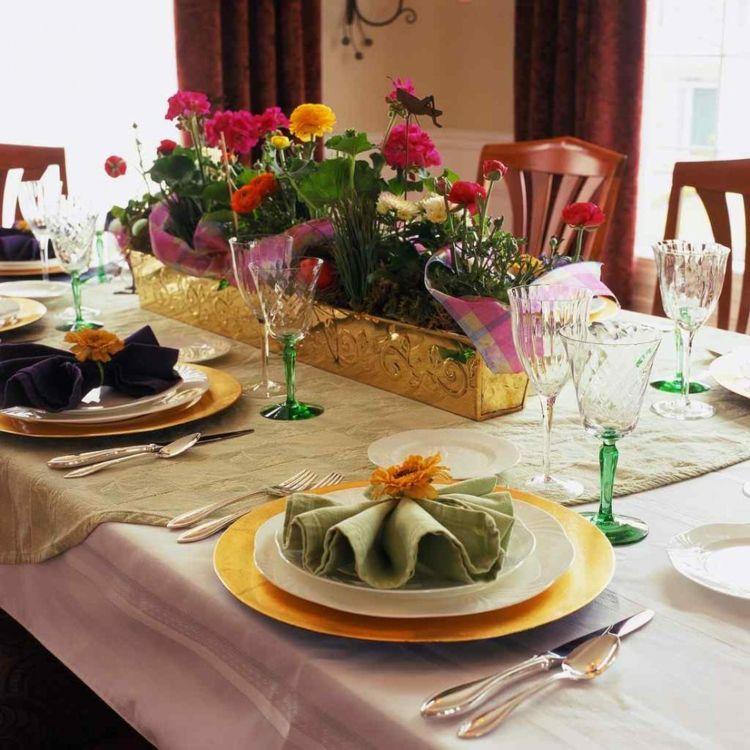 Tischdeko Zur Goldenen Hochzeit 25 Anregungen Furs Fest