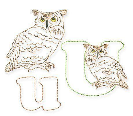 Das Tier-ABC und der Uhu » BERNINA Blog Abc der tiere