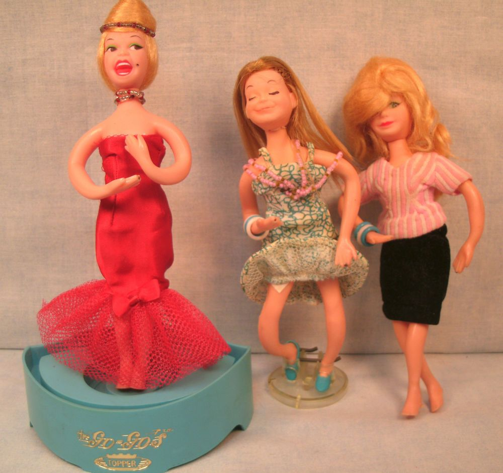 Topper The Go-Go's Dolls Hot Canary and Two Other  Go-Go Dolls #Topper #Dolls #unitedsellers