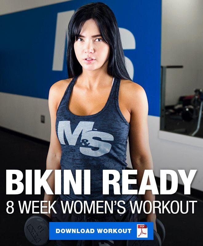 Bikini Ready Workout: 8 Week Workout for Women