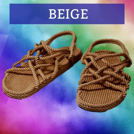 Handmade Rope Sandals 3 Pair Savings Bundle | Mix and Match | Mens and Womens Barefoot Hippie Sandals |Custom Size Available 1